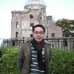 In front of the ..Dome.. , Hiroshima
