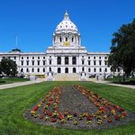 """A beautiful day in the state's capital"""