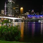 Views of the Brisbane River by Night