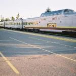 The Agawa Canyon Train. Starts at Sault St Marie.