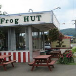 Last Frog Hut in a 100 miles