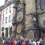 Astronomical clock in Old Town Square, Prague