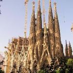 Sagrada Familia Temple, construction began in 1883 and is still under construction. Barcelona, S