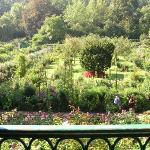 From Claude Monet's bedroom at Giverny, France