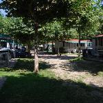 quiet location on camp site