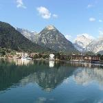 Pertisau from the lake