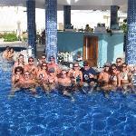 The pool bar crew