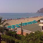 Beach view and Terracina from 2nd floor