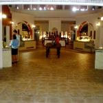 Entry to buffet