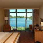 From a standard room (lake view)