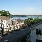 Castine from the Hotel