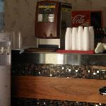 accueil machine a café