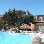 La piscine d'eau de mer