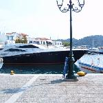old port at skiathos