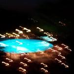 Pool at night (shaky)