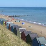 Mundesley Beach near Shrublands Farm, Cromer