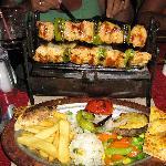 shish kebab at venice
