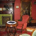Room with secret passageway