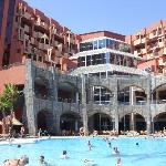 pool and hotel
