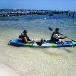 Kayaking is fun at Ocean Spa Hotel