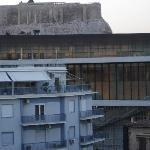 Acropolis from Hera rooftop restaurant
