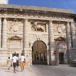 Zadar (entrée de la vieille ville)