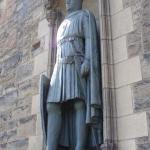 tribute to Robert the Bruce, Edinburgh Castle