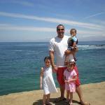 us at La Jolla beach