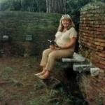 On the loo at Ostia Antica