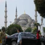 The beautiful Blue Mosque, Istanbul