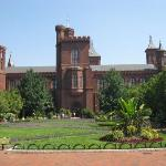 The Castle building at Smithsonian