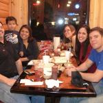 The family at the Smok n' pig