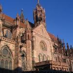 Freiburg Cathedral ภาพถ่าย