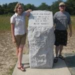 July 2, 2009: The Wright Brothers Memorial at Kill Devils Hill, North Carolina