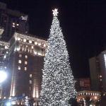 Christmas Tree on Union Square- San Francisco