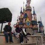 fantasyland~ sleeping beauty castle 15th anniversary