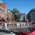 Yawkey Way on Match Day