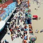Santa Cruz Beach Boardwalk ภาพถ่าย