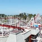 Santa Cruz Beach Boardwalk ภาพถ่าย