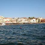 Chania old harbor early in the morning - magnificent