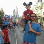 John and Brennigan at Magic Kingdom