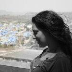 Me in Jodphur, the blue city.