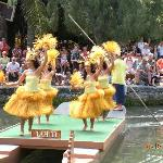 Pageant of Canoes