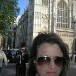 Westminster's Abbey al fondo