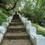 Scale verso il colle di Phou Si