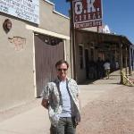 Had to do the tourist thing as I was roaming the streets of Tombstone, Arizona.