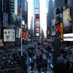 Hello Times Square.