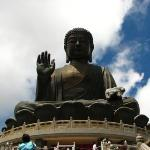 The Buddha at Lantau Island.