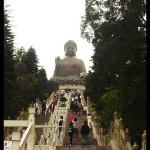 Staircases to the Buddha there are 250 staircases to reach the Buddha tired!!!!