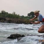 JUMPING INTO DEVILS POOL VICTORIA FALLS ZAMBIA.AND YES I WAS RATHER SCARED
